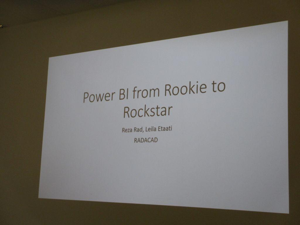 Power BI pre-con slides