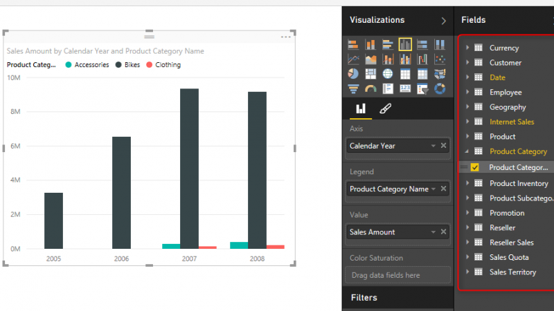 SSAS Tabular Live Power BI Connection
