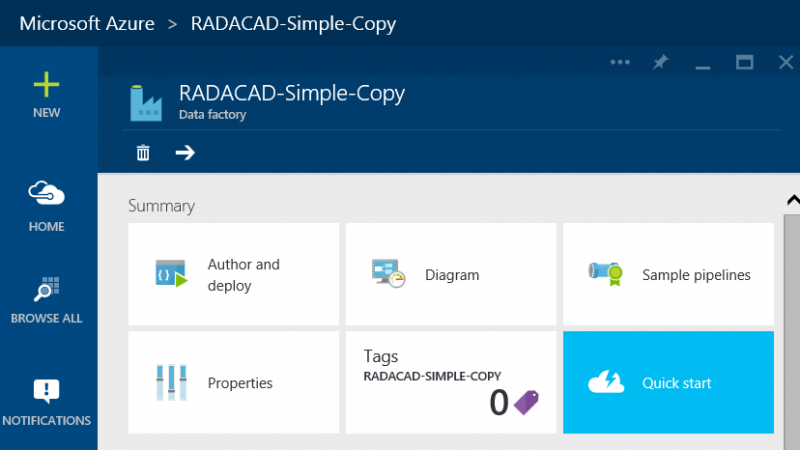 Building The First Azure Data Factory