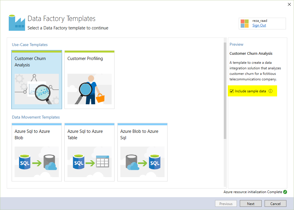Azure Data Factory Templates for Visual Studio | RADACAD