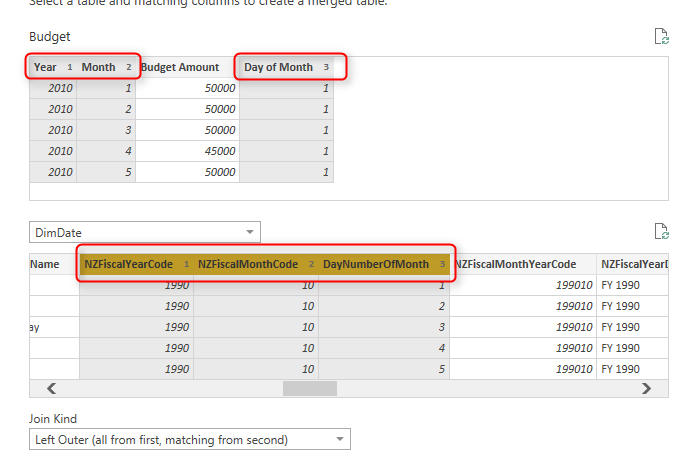 Relationship in Power BI with Multiple Columns