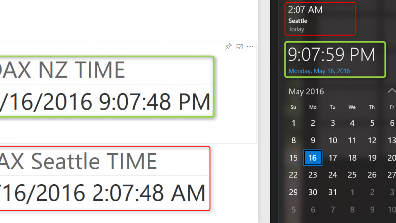 Solving DAX Time Zone Issue in Power BI