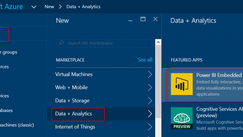Bring the Power into Your Application; Power BI Embedded