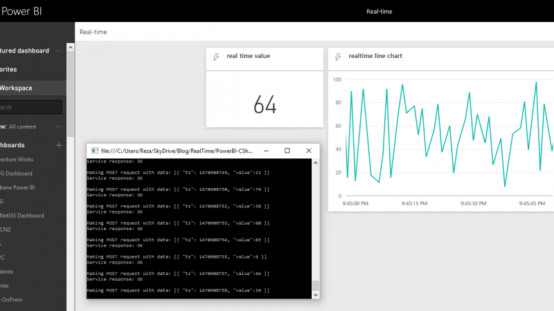 Monitor Real-time Data with Power BI Dashboards