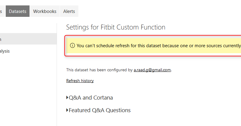 Loop Through On-Premises Files with Power BI and Schedule it to Refresh Automatically