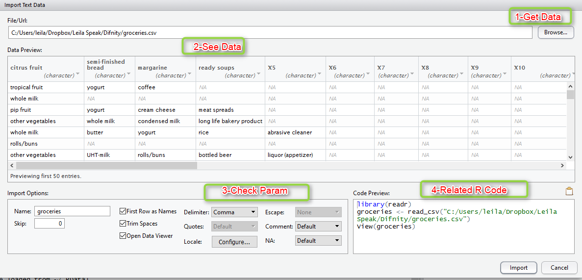 Using R Script as Data Source for Power BI