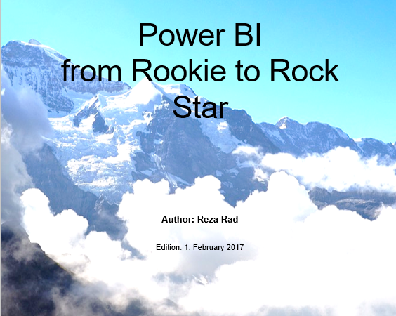 Download Free Power BI book PDF Format