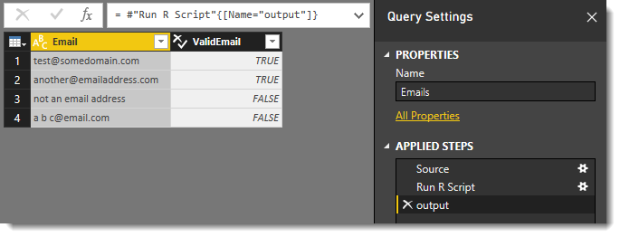 Power BI and Regular Expressions