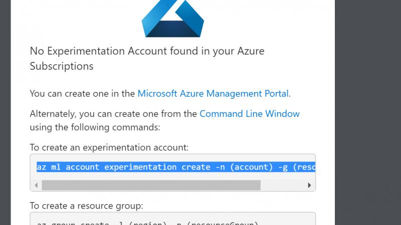 Azure ML workbench- Installation-Part 1