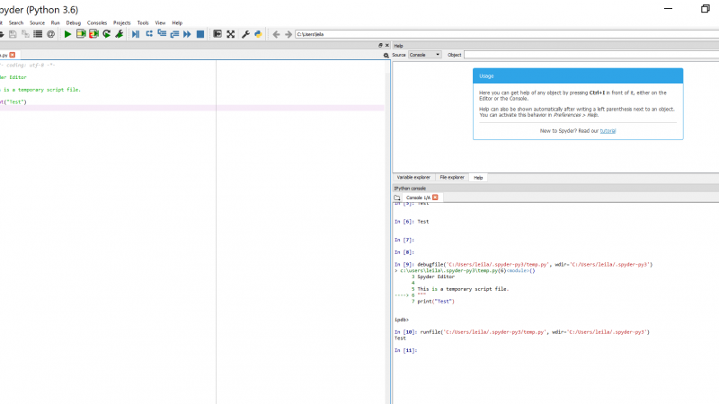 Python Programming-Environment