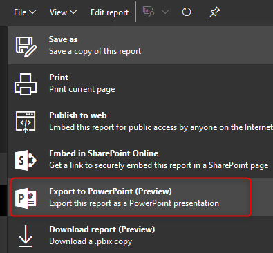 power bi export to power point things you need to know radacad