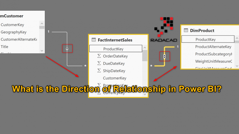 What is the Direction of Relationship in Power BI?