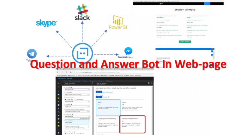 Microsoft Bot -Part2: Create a Question and Answer
