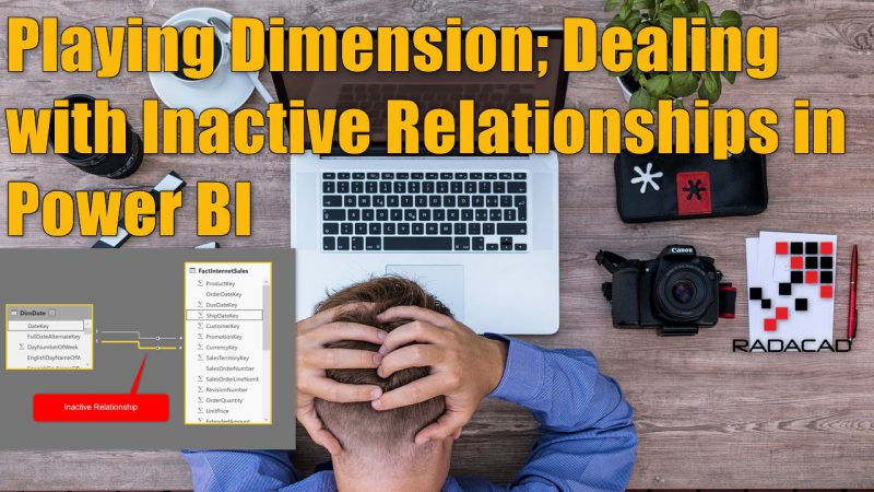 UseRelationship or Role-Playing Dimension; Dealing with Inactive Relationships in Power BI
