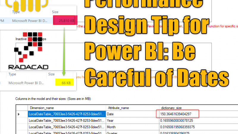 Performance Design Tip for Power BI: Be Careful of Dates
