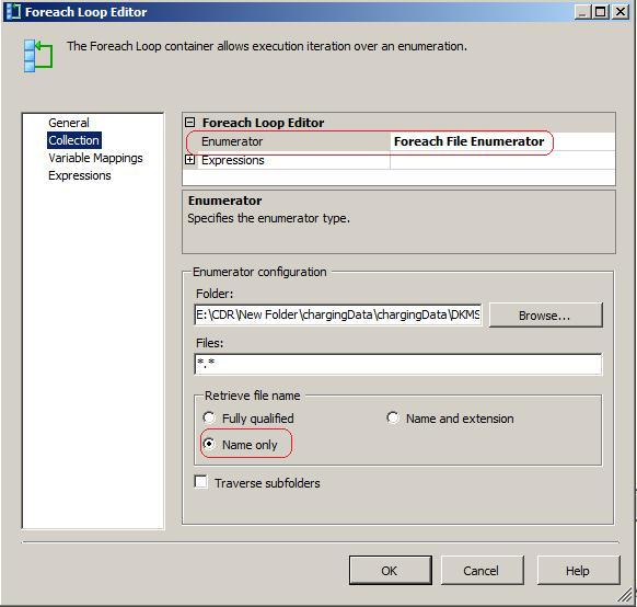 Looping through specific files – SSIS – RADACAD