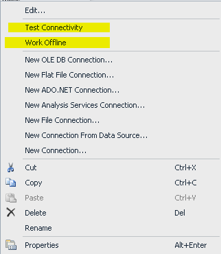 How to get rid of TESTING CONNECTIVITY at the time of