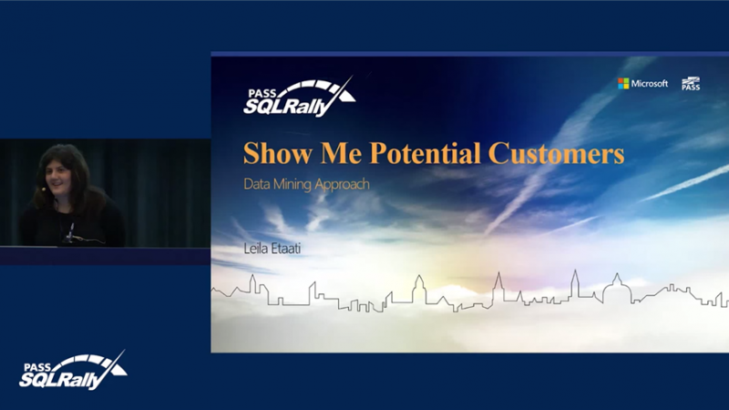 SQL Rally RADACAD Session: Show Me Potential Customers: Data Mining Approach