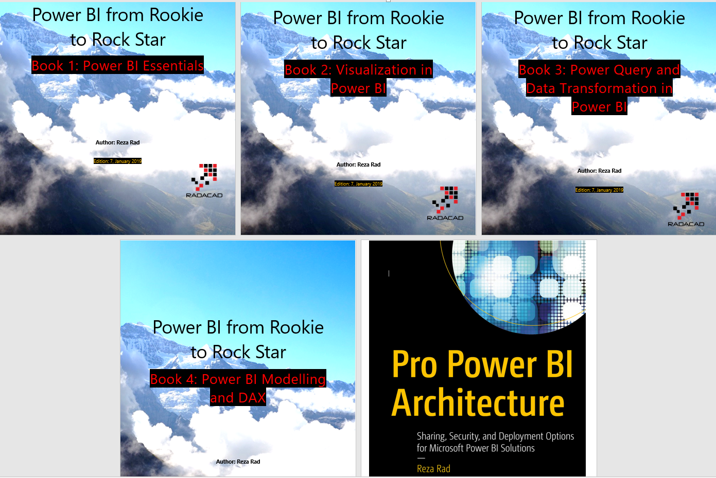Online Book: Power BI From Rookie to Rockstar – RADACAD