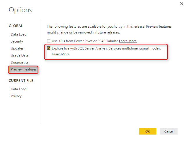 Live SSAS Multi-Dimensional Connection from Power BI | RADACAD