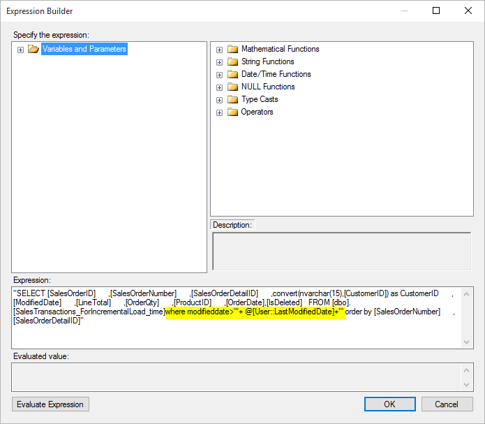 SSIS Incremental Load with Datetime Columns – RADACAD