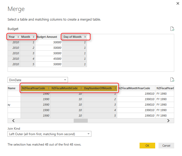 Relationship in Power BI with Multiple Columns | RADACAD