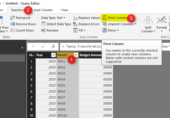 Pivot and Unpivot with Power BI – RADACAD