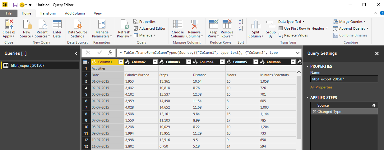 Loop Through On-Premises Files with Power BI and Schedule it