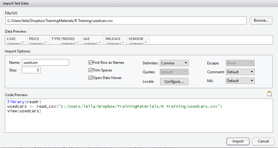 R Data Gathering from Spreadsheet and SQL Server – RADACAD