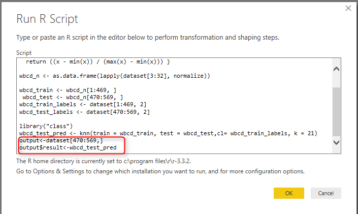 Prediction via KNN (K Nearest Neighbours) KNN Power BI: Part