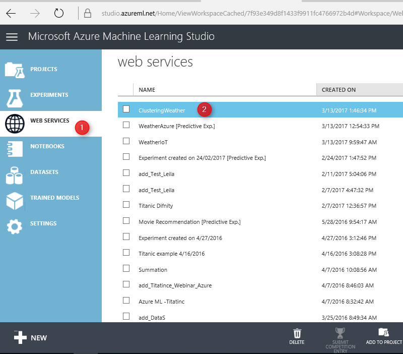 Part 4 – Live Streaming Weather Station with Cortana Analytics
