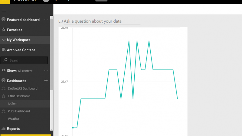 Live Streaming Weather Station with Cortana Analytics – Part 3