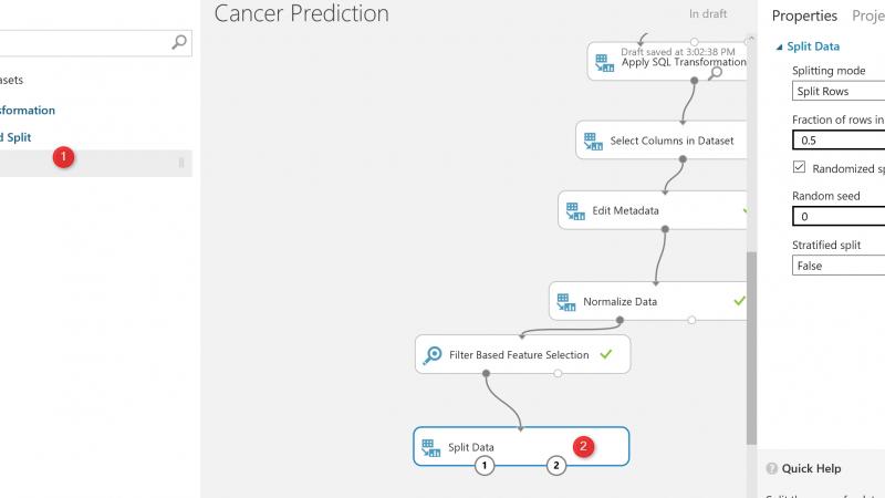 Azure ML Part 5: A Machine Learning Prediction scenario (2)