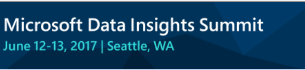Speaking Files in Microsoft Data Insight Summit 2017