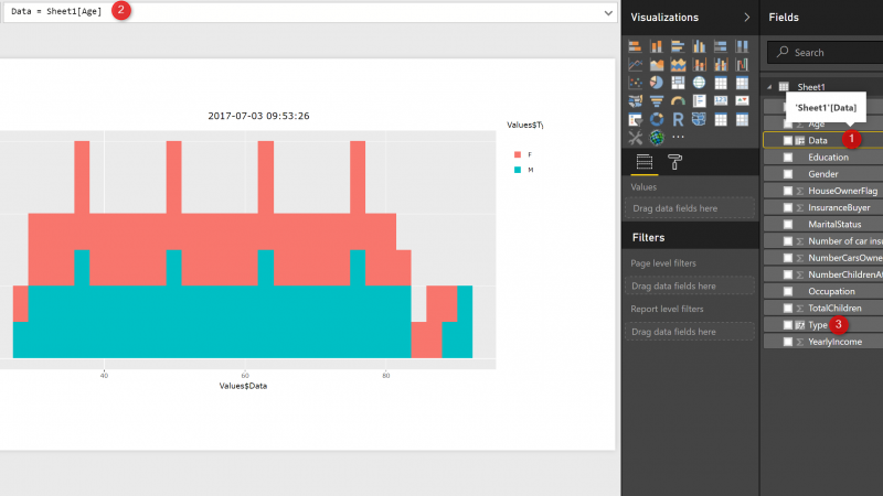 Interactive Charts using R and Power BI: Create Custom Visual Part 1