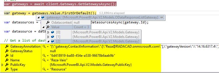 Power BI REST API – RADACAD