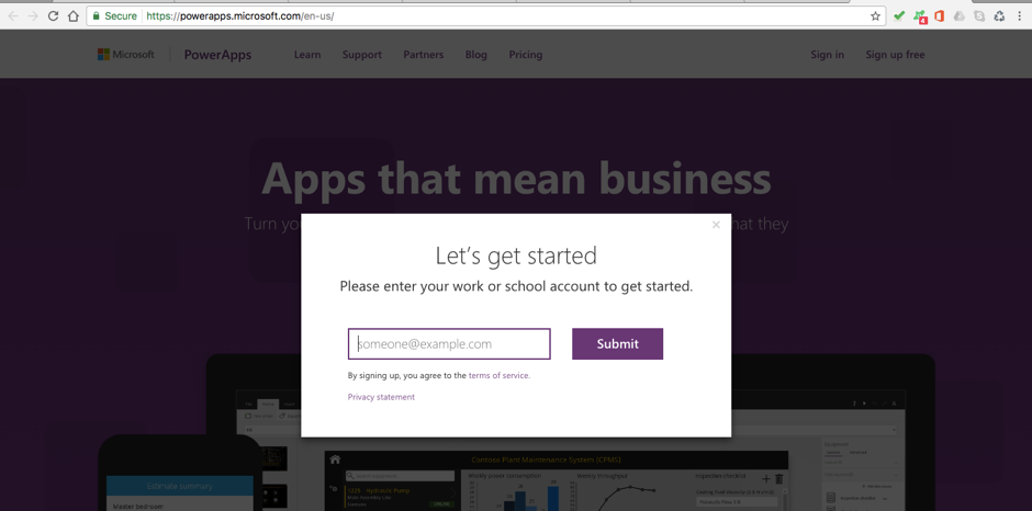 PowerApps – Building Timesheet App without Coding – Part 1