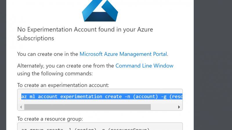 Azure ML workbench- Installation-Part 1
