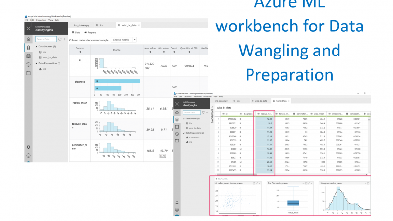 Azure ML workbench-Data Wrangling -Part 3