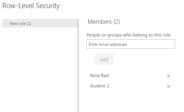 Dynamic Row Level Security with Manager Level Access in