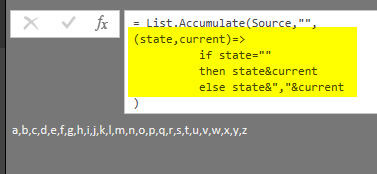 List Accumulate Hidden Gem of Power Query List Functions in