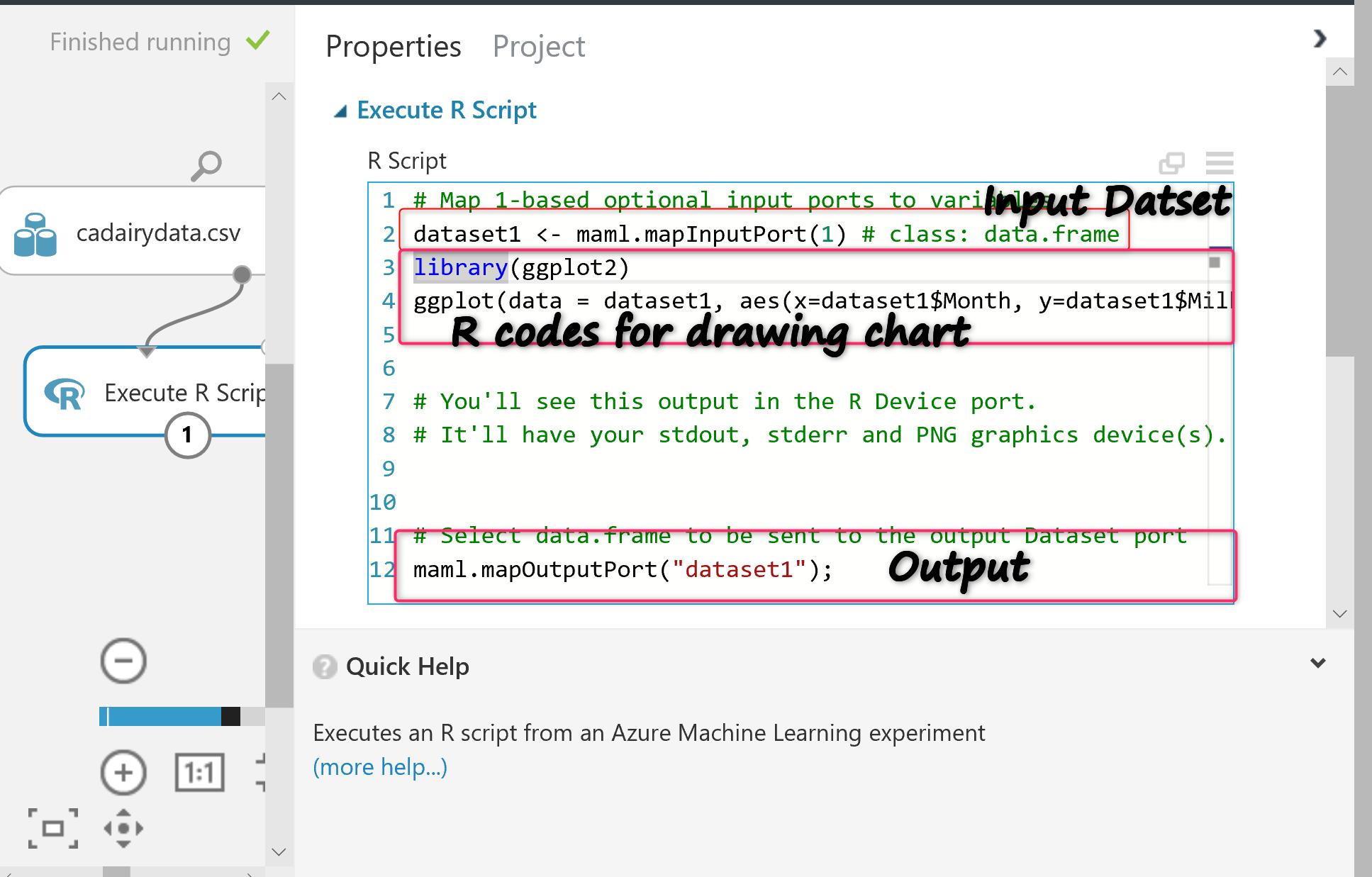 Run R codes in Azure ML | RADACAD