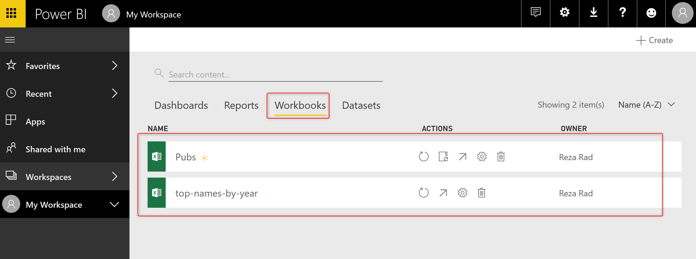 Power BI and Excel