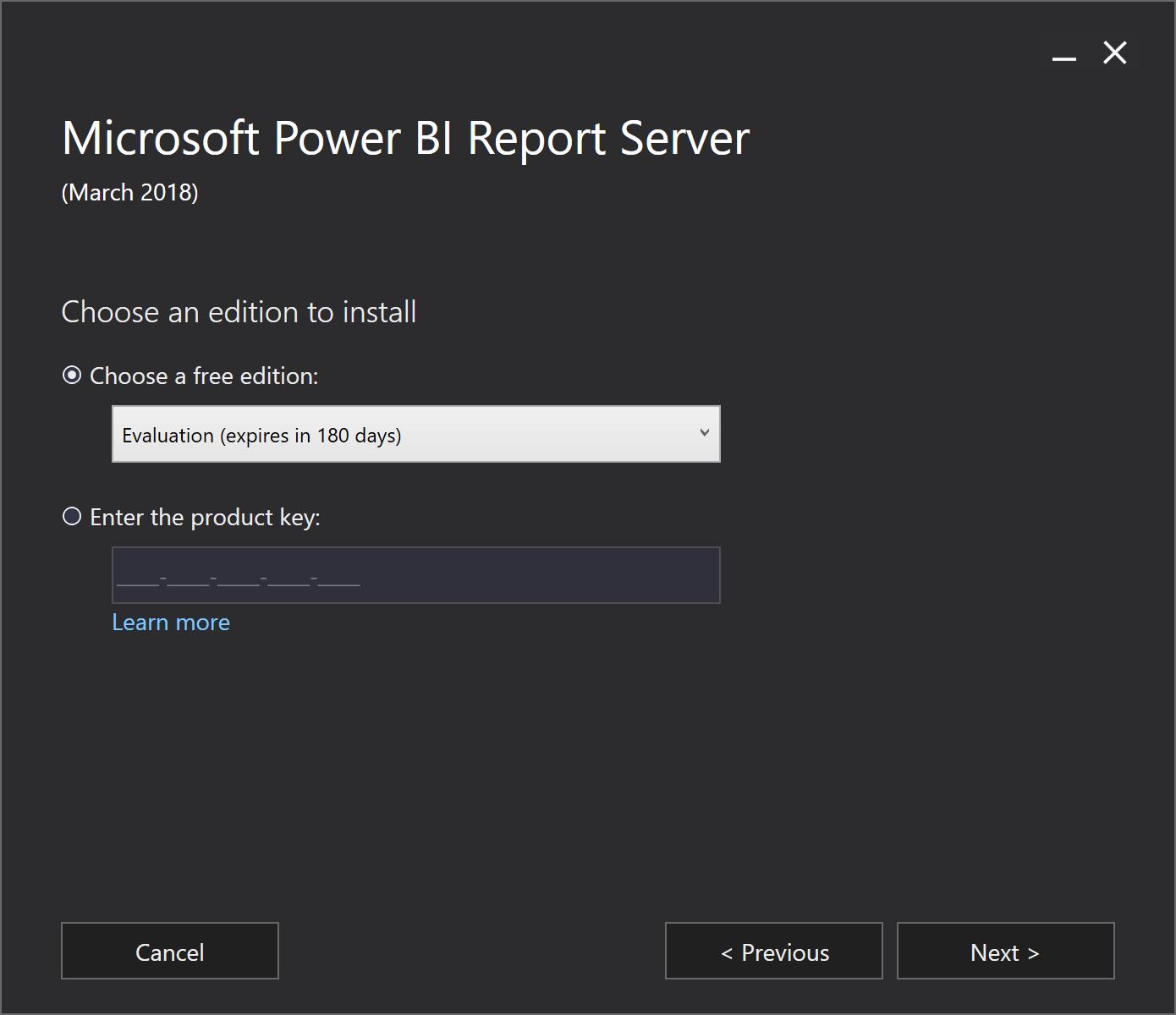 Power BI Report Server