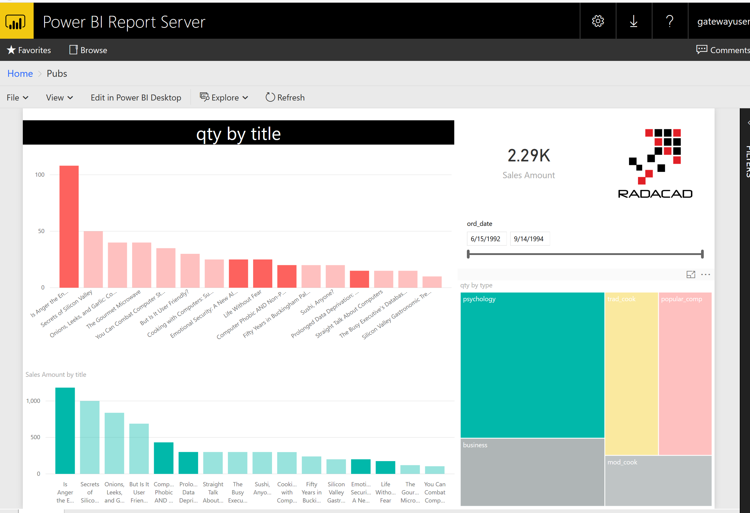 Power BI Report Server
