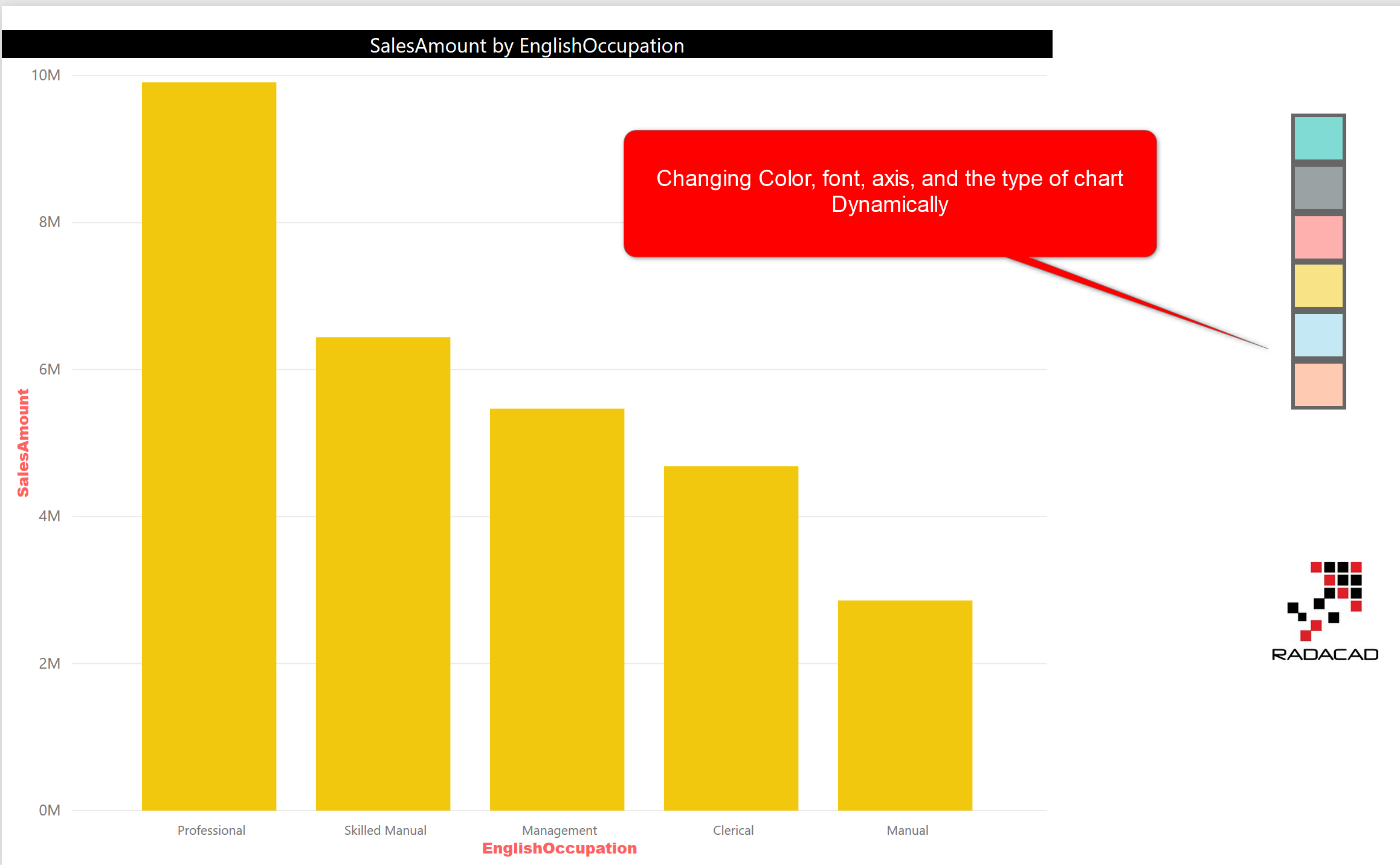 Bookmarks and Buttons: Making Power BI Charts Even More