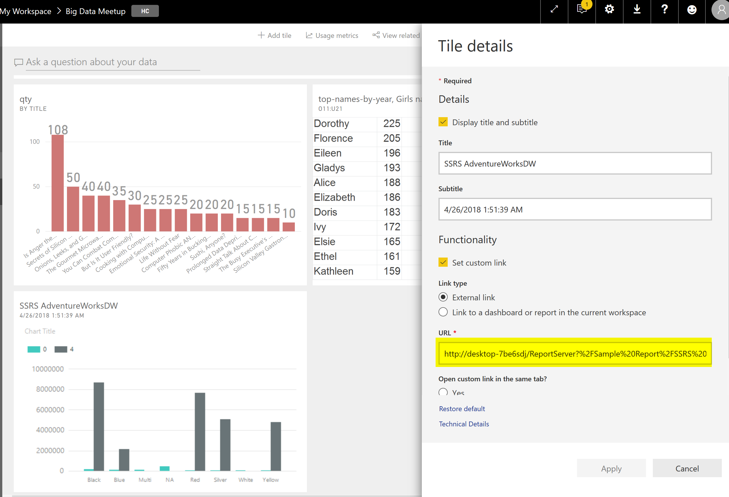 SQL Server Reporting Services Integration with Power BI | RADACAD