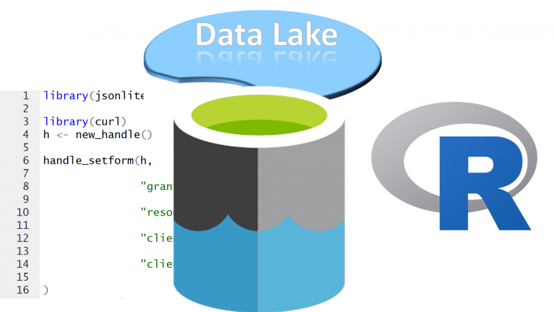 R In Azure Data Lake- Part1- Sample Data