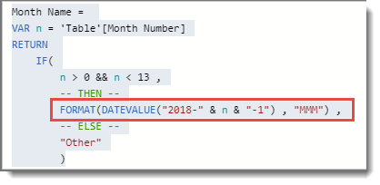 DAX : Convert Number into Month Name – RADACAD
