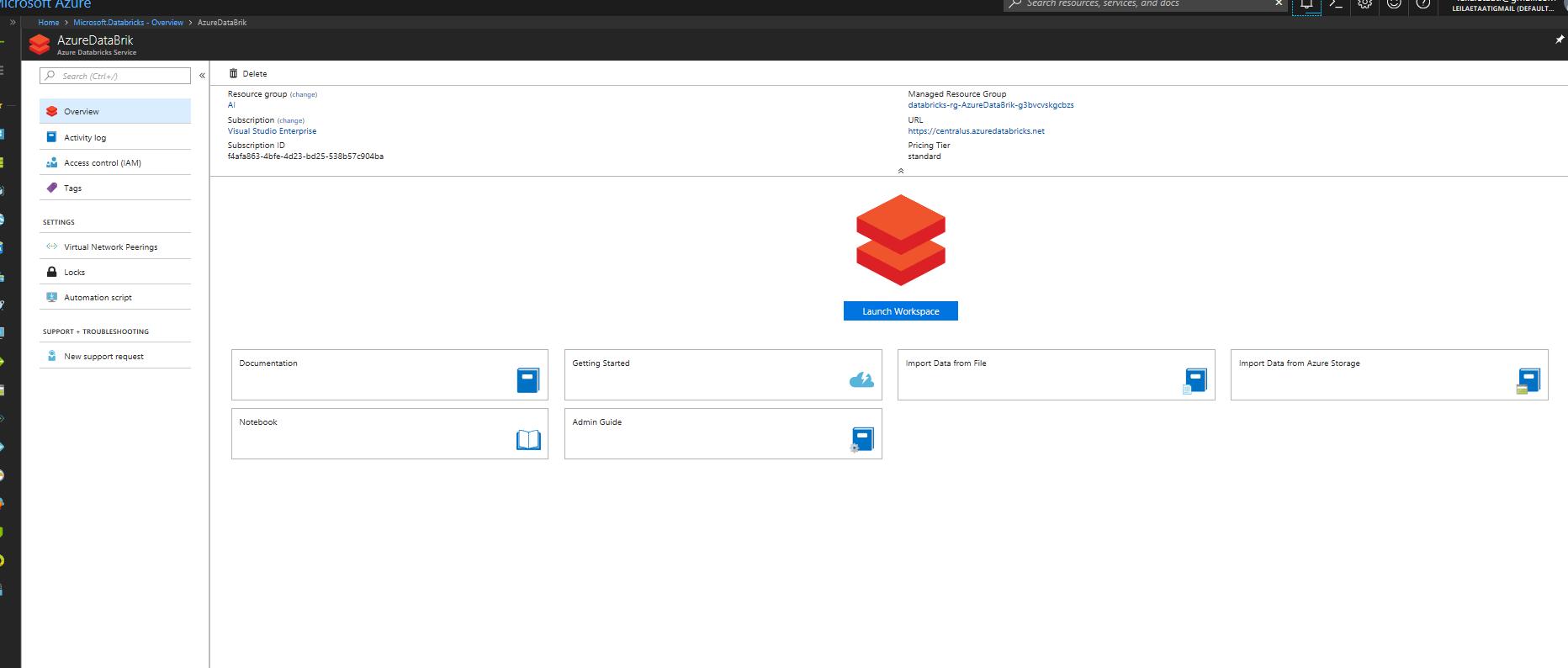 Azure data Bricks – Part1 – RADACAD